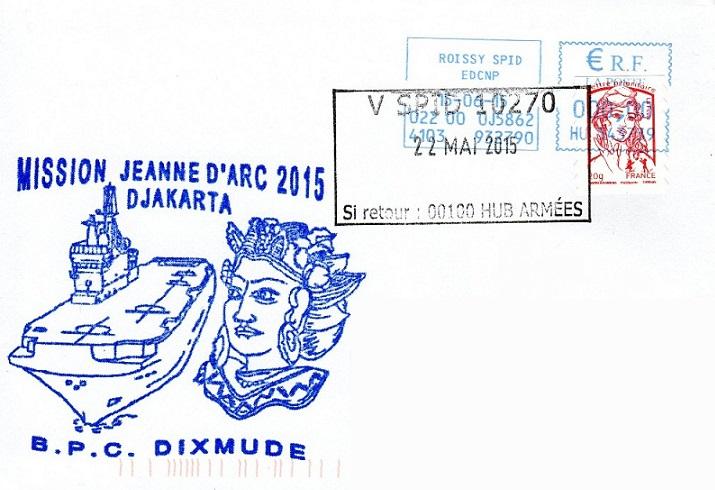 * DIXMUDE (2012/....) * 2015-011