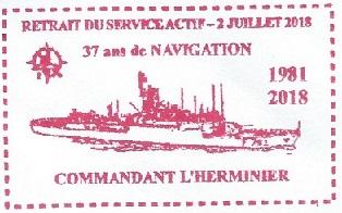 * COMMANDANT L'HERMINIER (1986/2018) * 2018-022