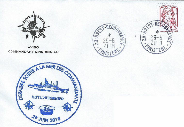 * COMMANDANT L'HERMINIER (1986/2018) * 2018-023