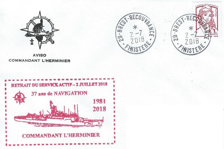 * COMMANDANT L'HERMINIER (1986/2018) * 2018-024