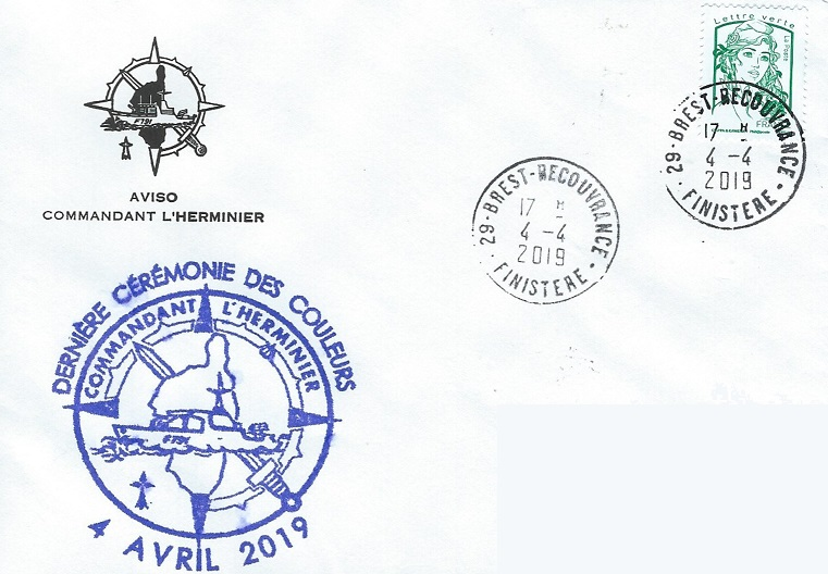 * COMMANDANT L'HERMINIER (1986/2018) * 2019-035