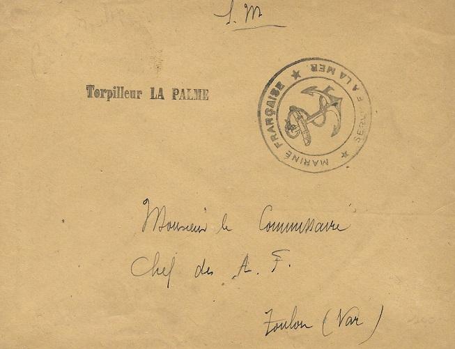 * LA PALME (1928/1942) * 205_0012