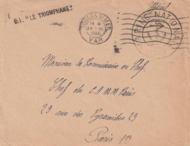 * LE TRIOMPHANT (1936/1954) * 212_0011