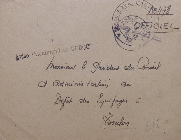 * COMMANDANT DUBOC (1939/1963) * 217_0017