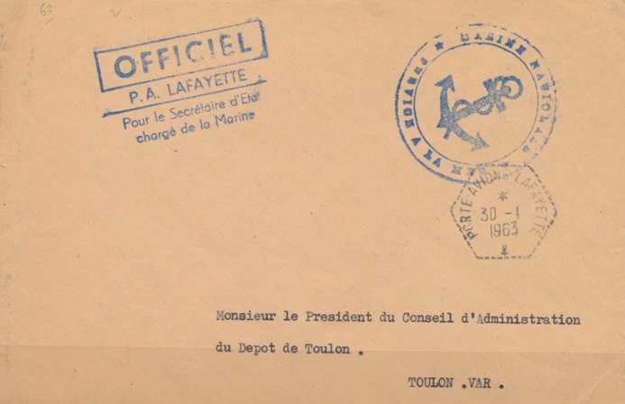 * LA FAYETTE (1951/1963) * 234_0011