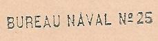 N°25 - Bureau Naval de Casablanca 251010