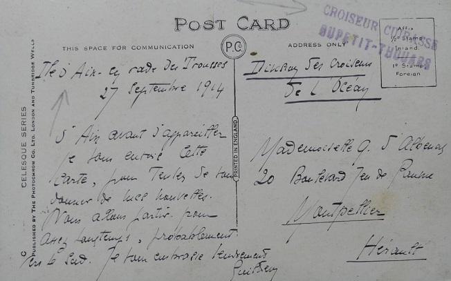 * DUPETIT-THOUARS (1905/1918) * 257_0010