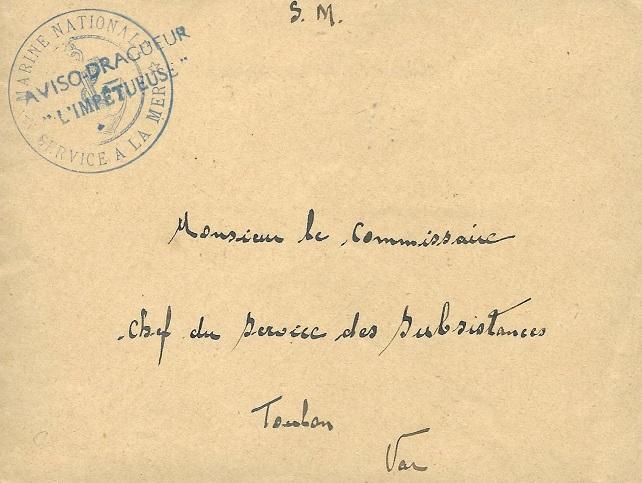 * L'IMPÉTUEUSE (1940/1942) * 260_0010