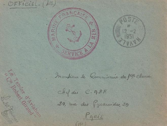 * COMMANDANT ROBERT GIRAUD (1946/1977) * 268_0014
