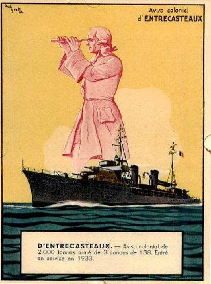 * D'ENTRECASTEAUX (1933/1948) * 297_0014