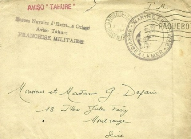 * TAHURE (1920/1944) * 34-0310