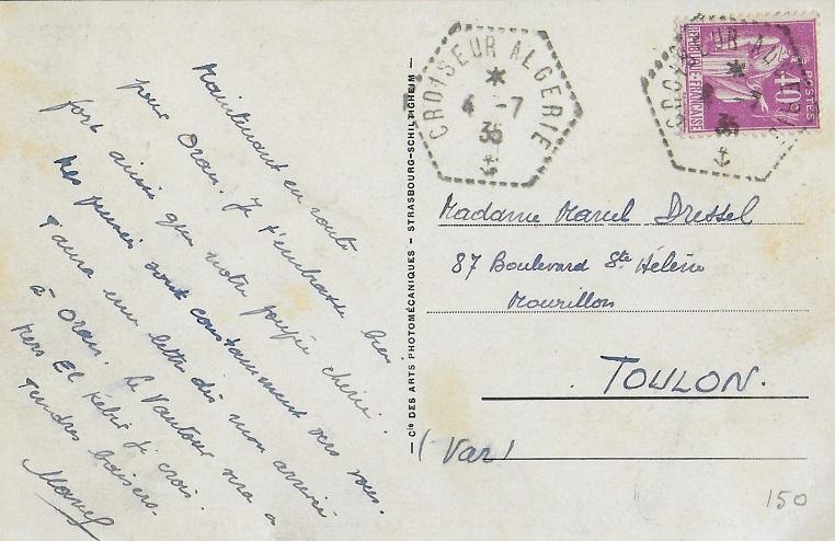 * ALGÉRIE (1934/1942) * 35-0710