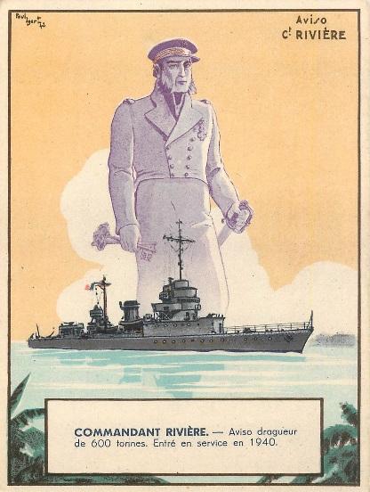 * COMMANDANT RIVIÈRE (1939/1942) * 373_0011