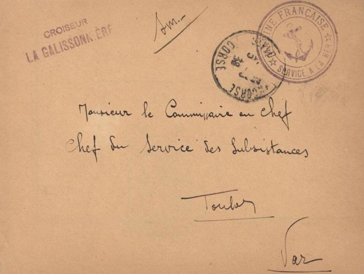 * LA GALISSONNIÈRE (1936/1942) * 38-0311
