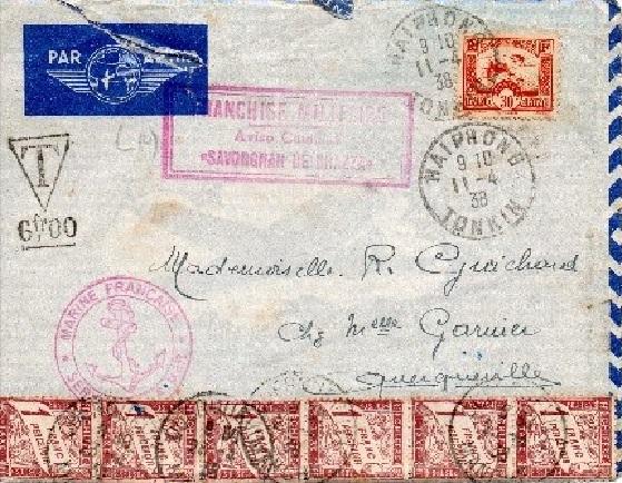 * SAVORGNAN DE BRAZZA (1933/1957) * 38-0410
