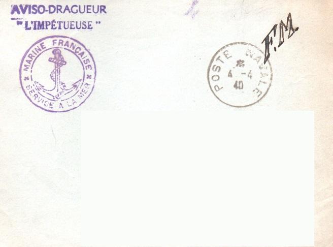 * L'IMPÉTUEUSE (1940/1942) * 40-0412