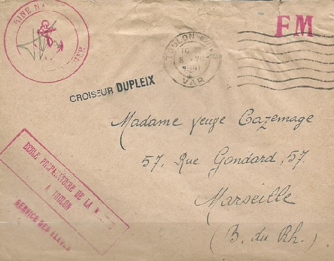 * DUPLEIX (1932/1942) * 41-0710