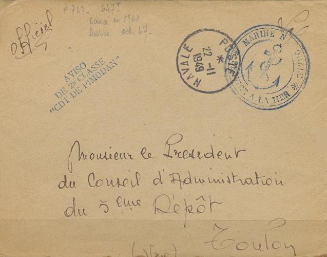 * COMMANDANT DE PIMODAN (1948/1976) * 422_0011