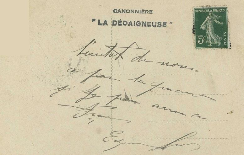 * DÉDAIGNEUSE (1916/1942) * 438_0012