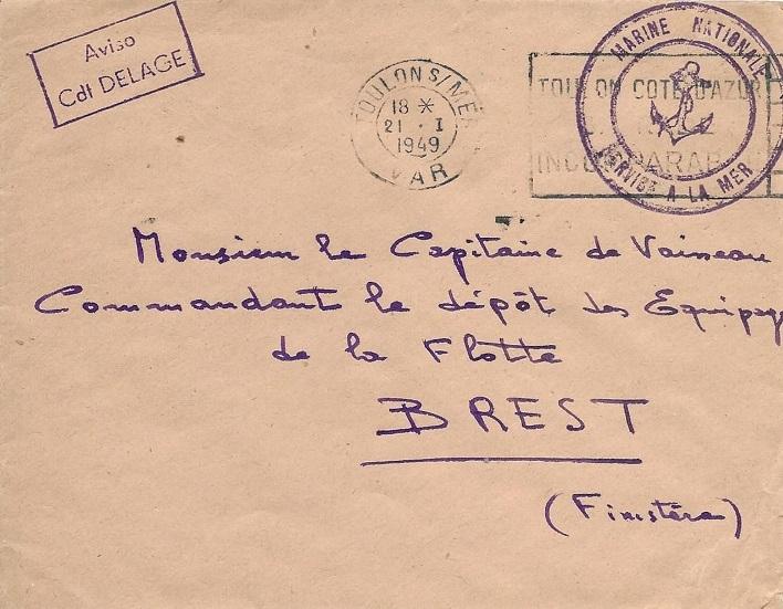 * COMMANDANT DELAGE (1939/1960) * 448_0010
