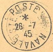 N°67 - Bureau Naval de Sète 45-0710