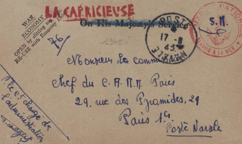 * LA CAPRICIEUSE (1940/1964) * 45-0810
