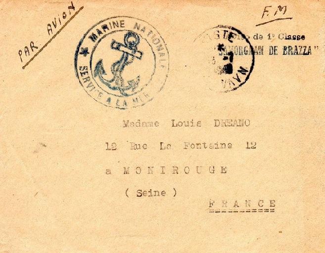* SAVORGNAN DE BRAZZA (1933/1957) * 466_0010