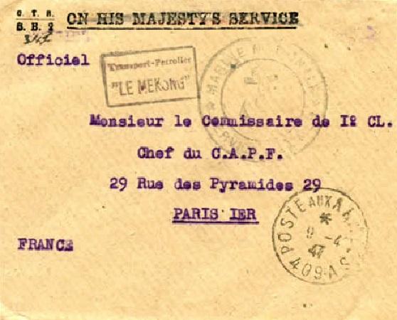 * LE MÉKONG (1932/1959) * 47-0410