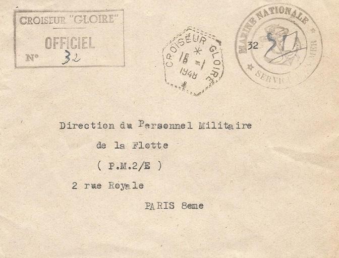 * GLOIRE (1937/1958) * 472_0010