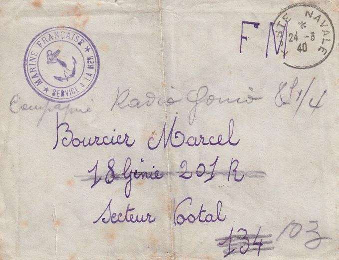 * L'AUDACIEUX (1935/1942) * 474_0010