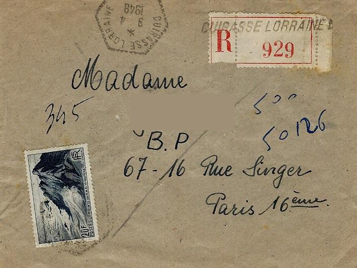 cuirasse - LORRAINE (CUIRASSE) 48-0410