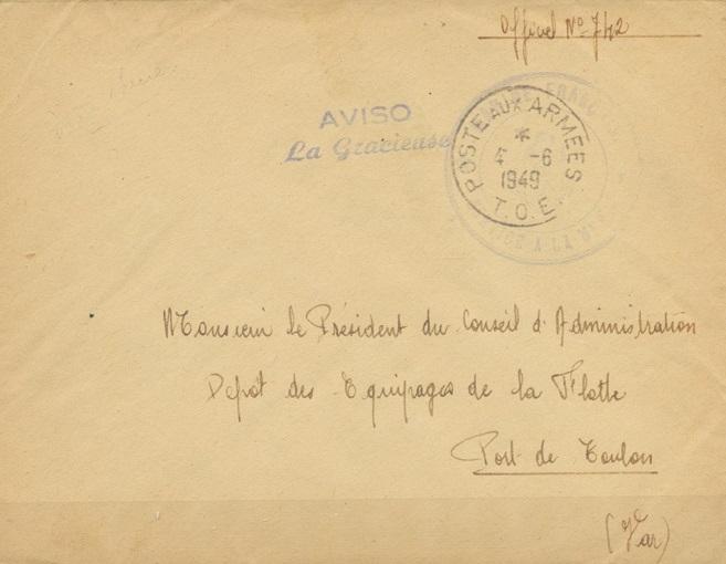 * LA GRACIEUSE (1940/1958) * 49-0610