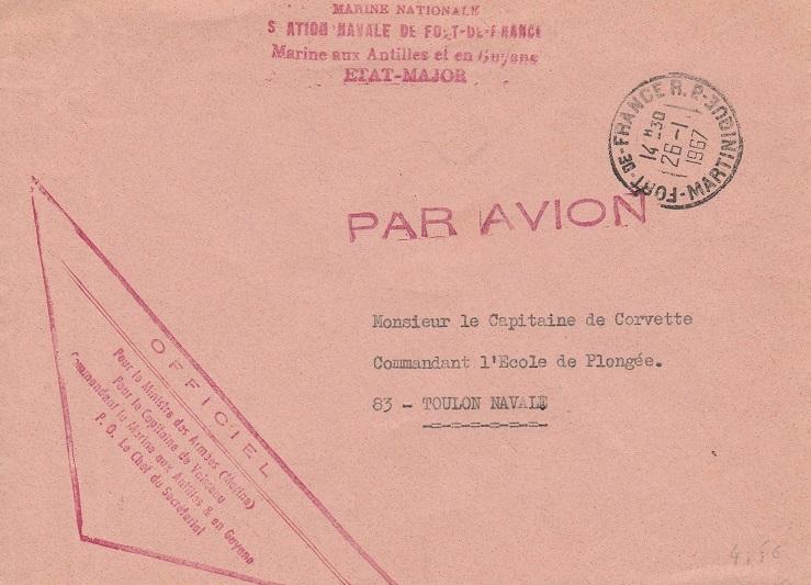 MARTINIQUE - FORT DE FRANCE 507_0011