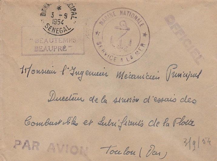 * BEAUTEMPS-BEAUPRÉ (1947/1969) * 54-0911