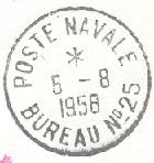 N°25 - Bureau Naval de Casablanca 58-0810