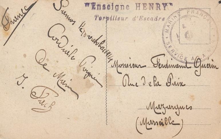 * ENSEIGNE HENRY (1912/1928) * 593_0010