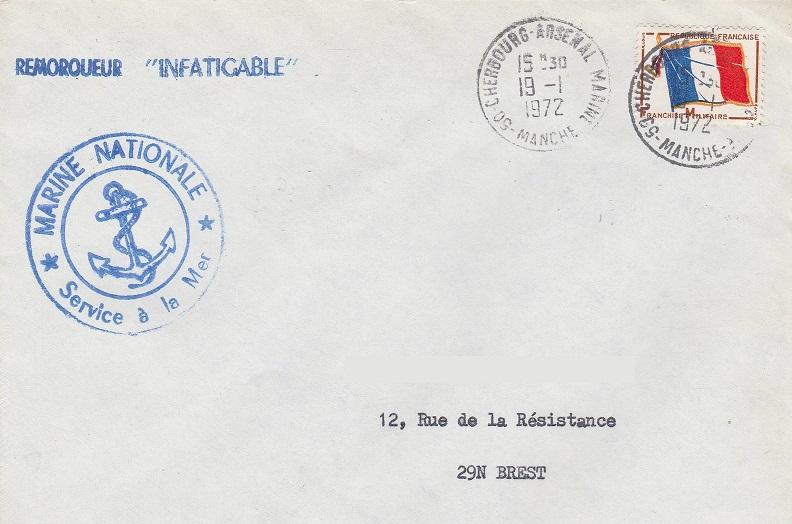* INFATIGABLE (1946/1977) * 606_0010