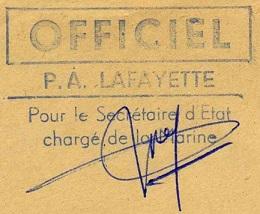 * LA FAYETTE (1951/1963) * 62-1210