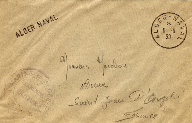 Bureau Naval N° 22 d'Alger 626_0011