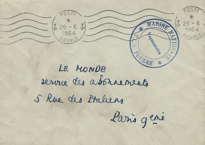 * FOUDRE (1952/1969) * 64-0610