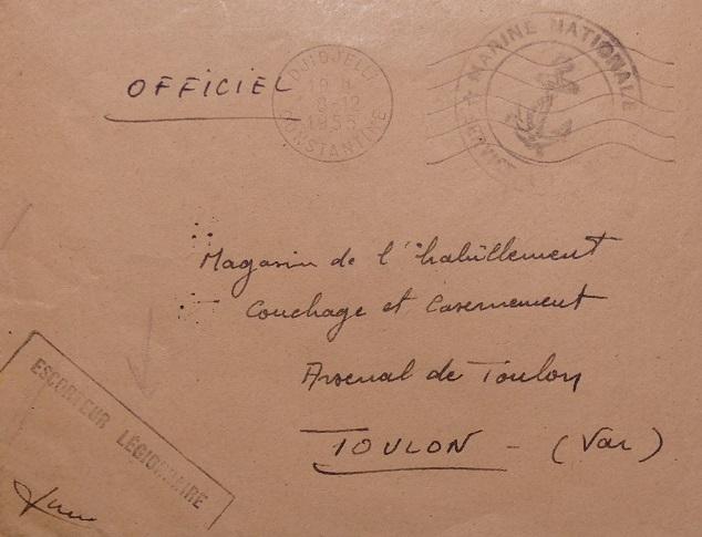 * LÉGIONNAIRE (1944/1958) * 652_0012