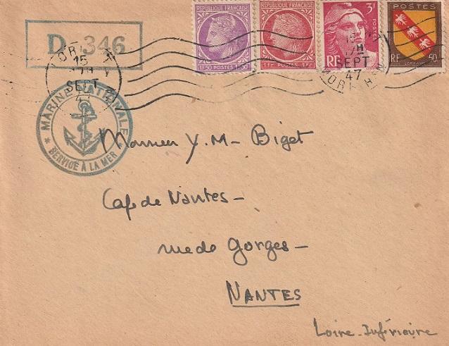 Dragueur - * DRAGUEUR D 346 (1946/1948) * 657_0011