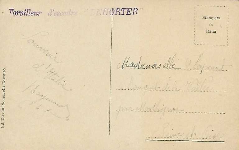 * DEHORTER (1912/1933) * 663_0010