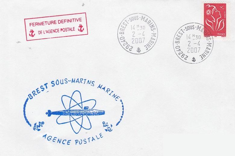 BREST - SOUS-MARINS - MARINE 667_0010