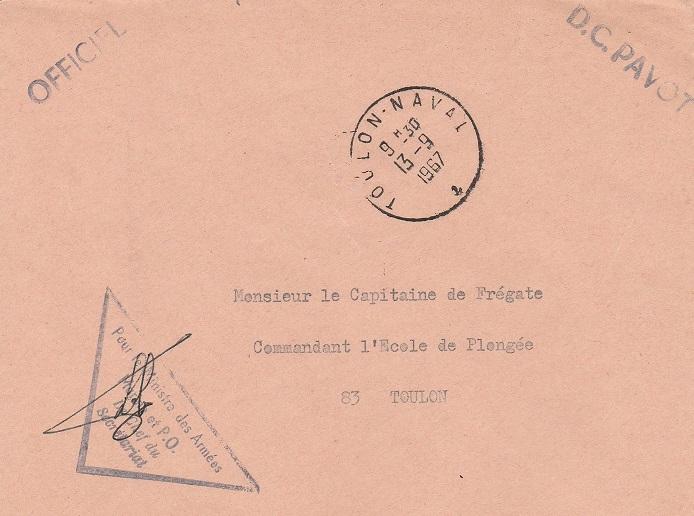 * PAVOT (1955/1970) * 67-0910