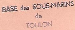 * MOURILLON (Base Sous-marine de Toulon) * 68-0310