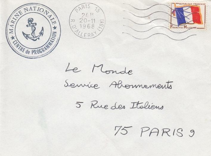 * PARIS * 68-1110