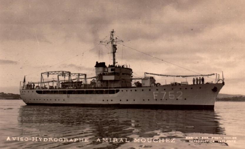 amiral - * AMIRAL MOUCHEZ (1937/1965) * 689_0011