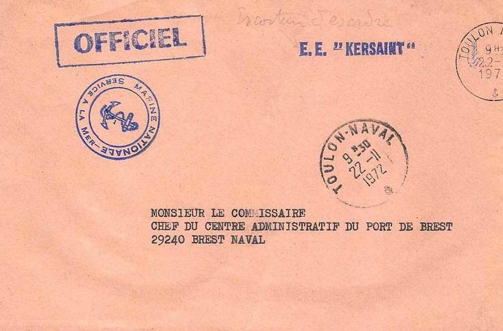 * KERSAINT (1956/1984) * 72-1112