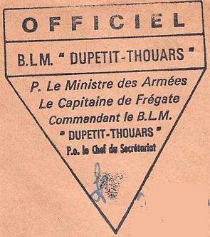 * DUPETIT-THOUARS (1956/1988) * 74-0510